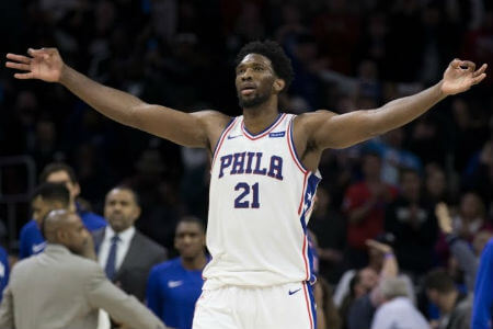 Joel Embiid is now a NBA star